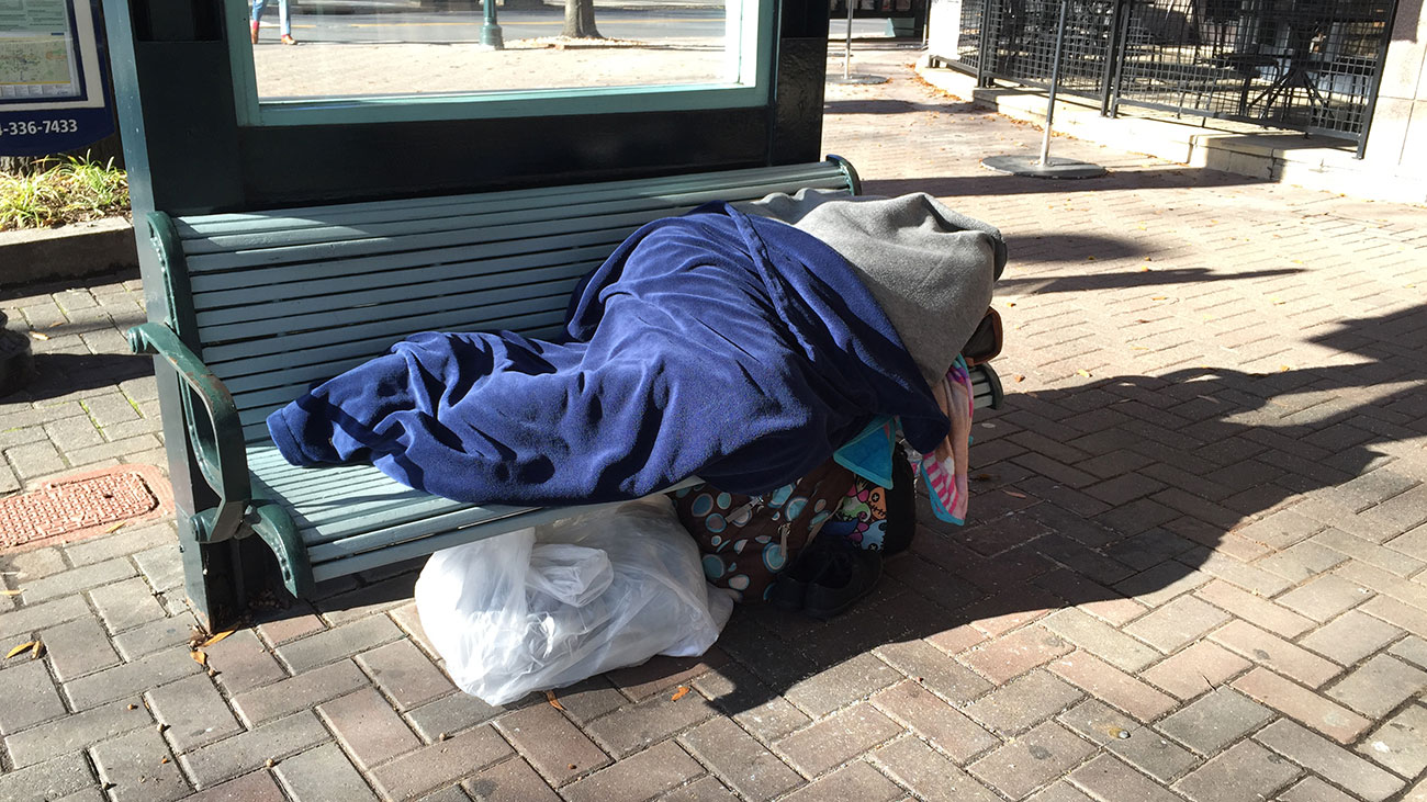 Has Charlotte made progress in ending homelessness?