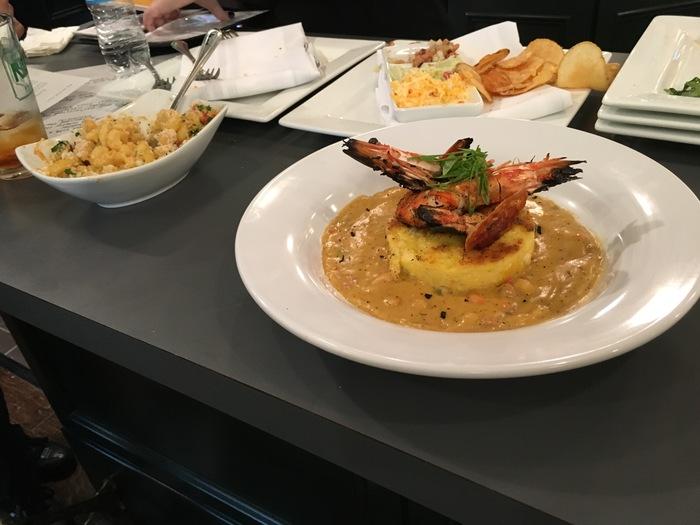 shrimp and grits reid's market