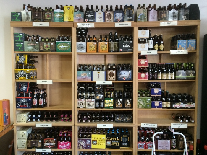 beer wine shop dilworth
