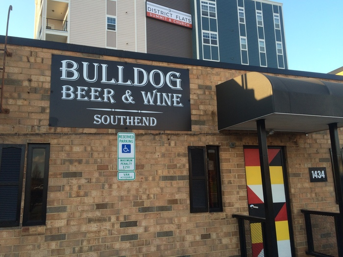 bulldog beer and wine south end charlotte