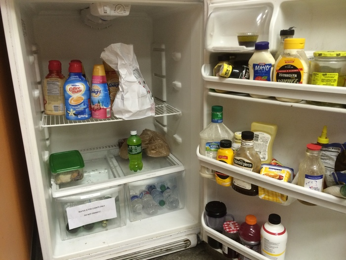 refrigerator at boxman studios