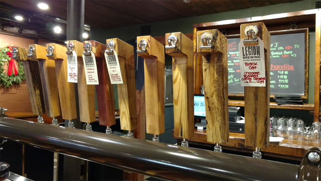Legion Brewing now pouring in Plaza Midwood