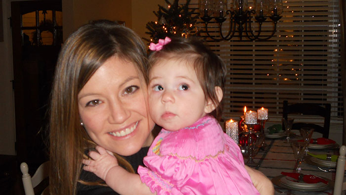 libby and mom