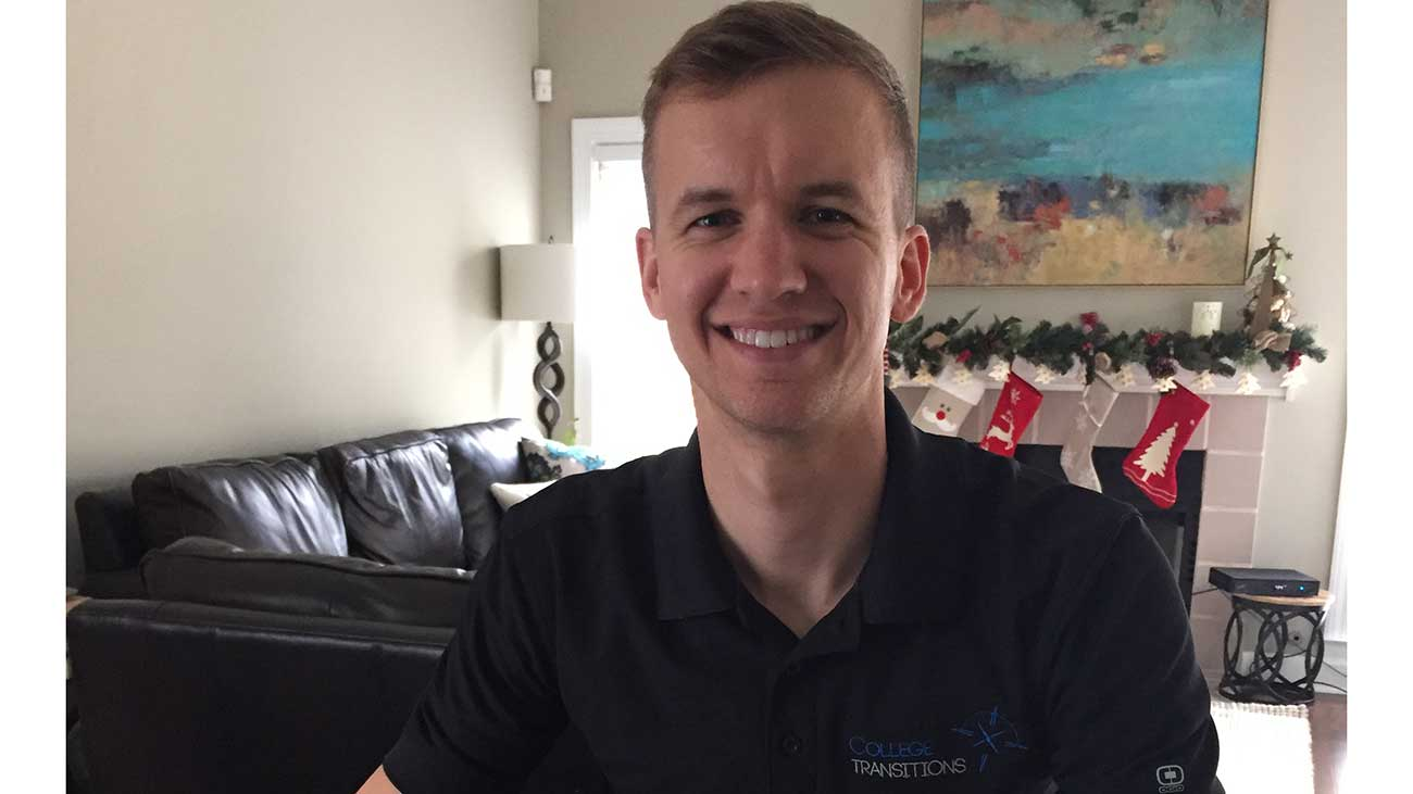 Work life of Michael Trivette, co-founder at College Transitions