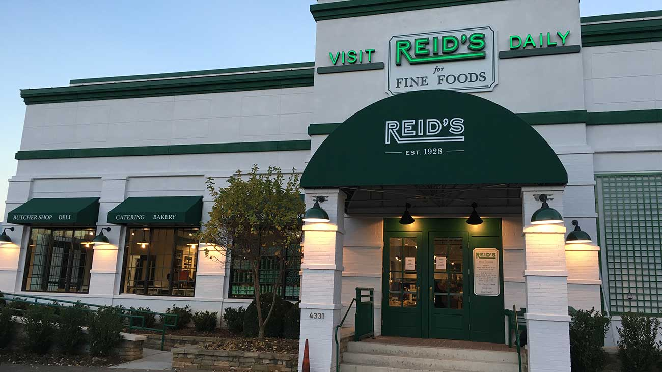 Reid's will become an urban food and drink powerhouse in the Carolina region, slowly