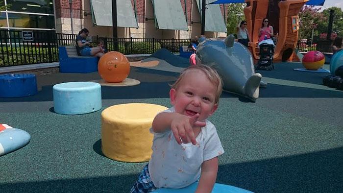 SouthPark Mall playground