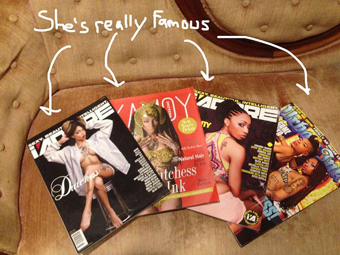 Crystana Lattimore in magazines