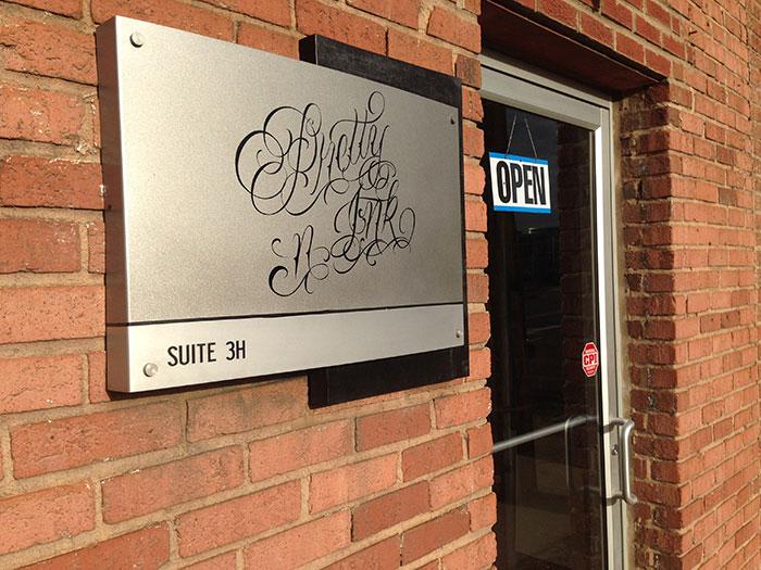 pretty n ink entrance