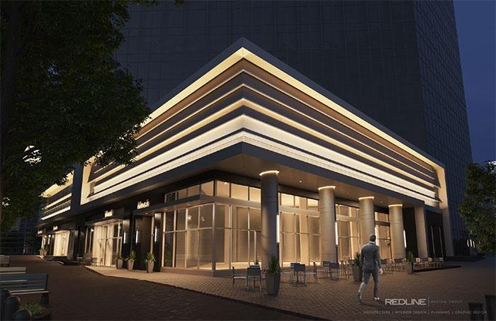 Bank of America Plaza Renovation along Tryon