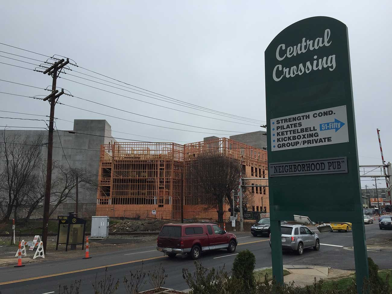 Central Crossing wants to serve the million apartments being built around it