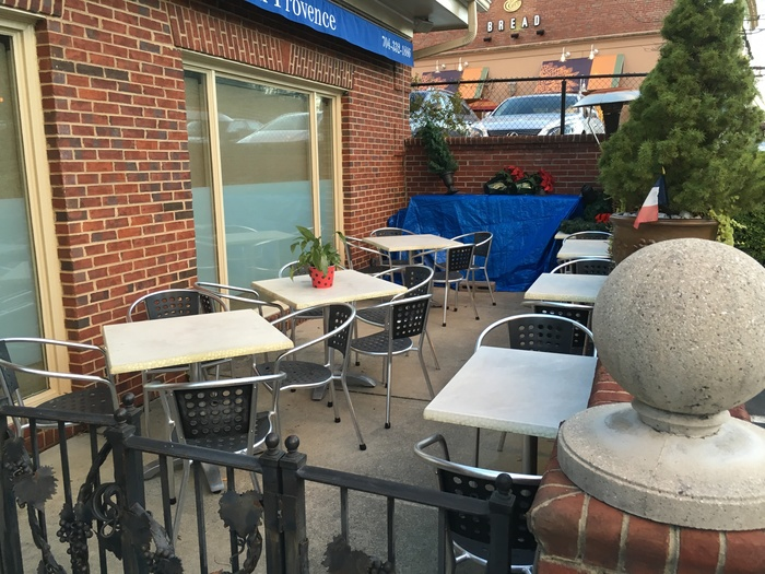 french restaurant eastover patio