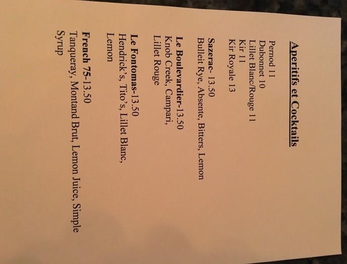 cocktail menu aix en provence charlotte