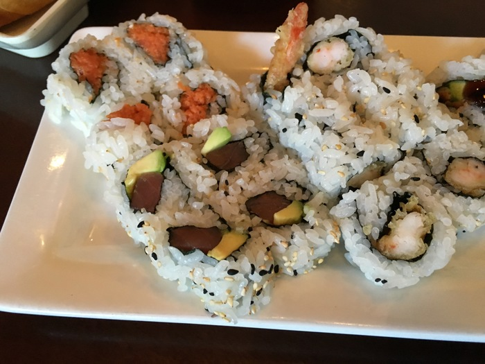 sushi rolls pisces charlotte