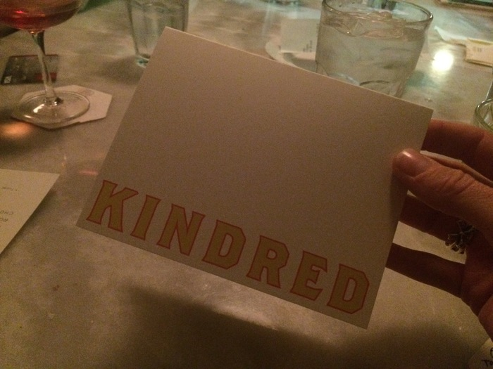 kindred thank you card