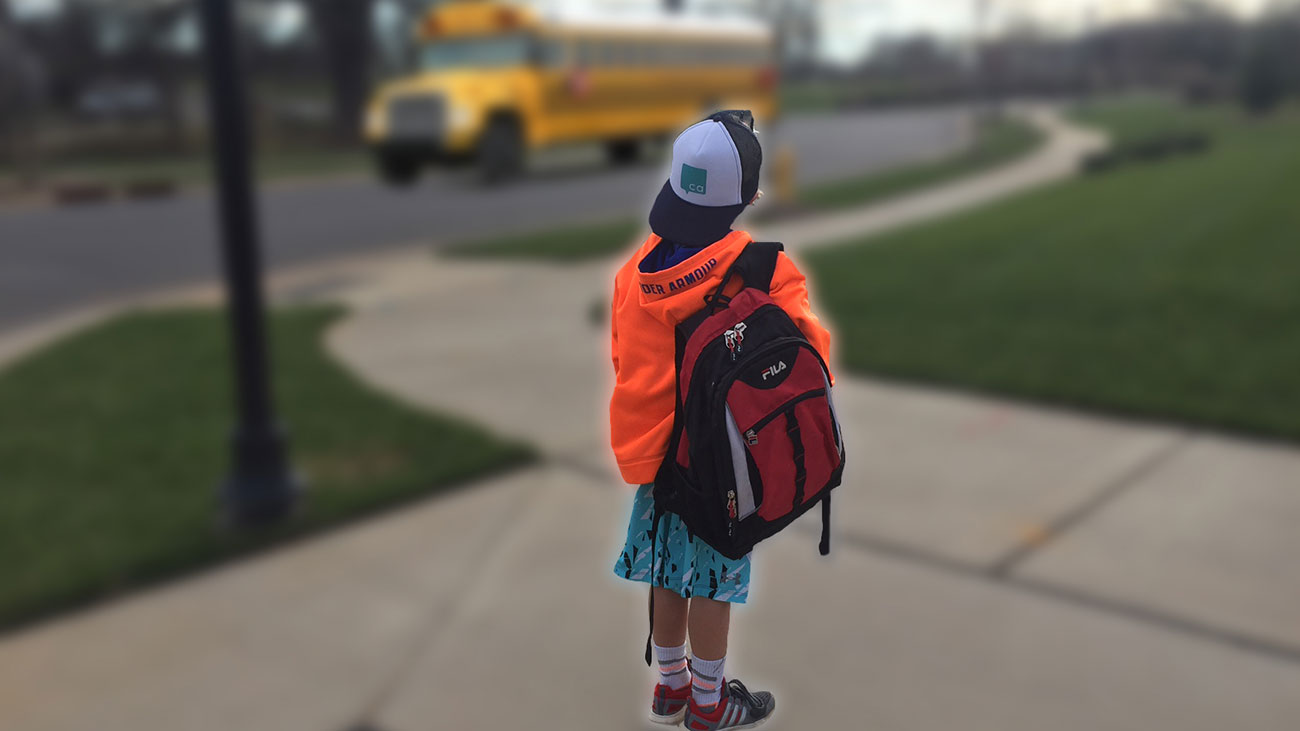 Why my kid rides the bus