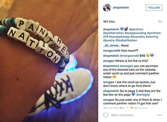 melvin-panthers-bracelet