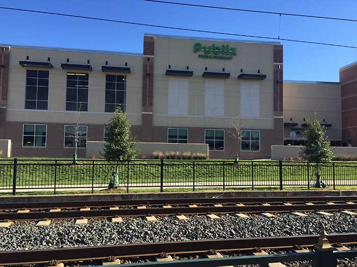 There could be a new light rail stop by Publix and ...