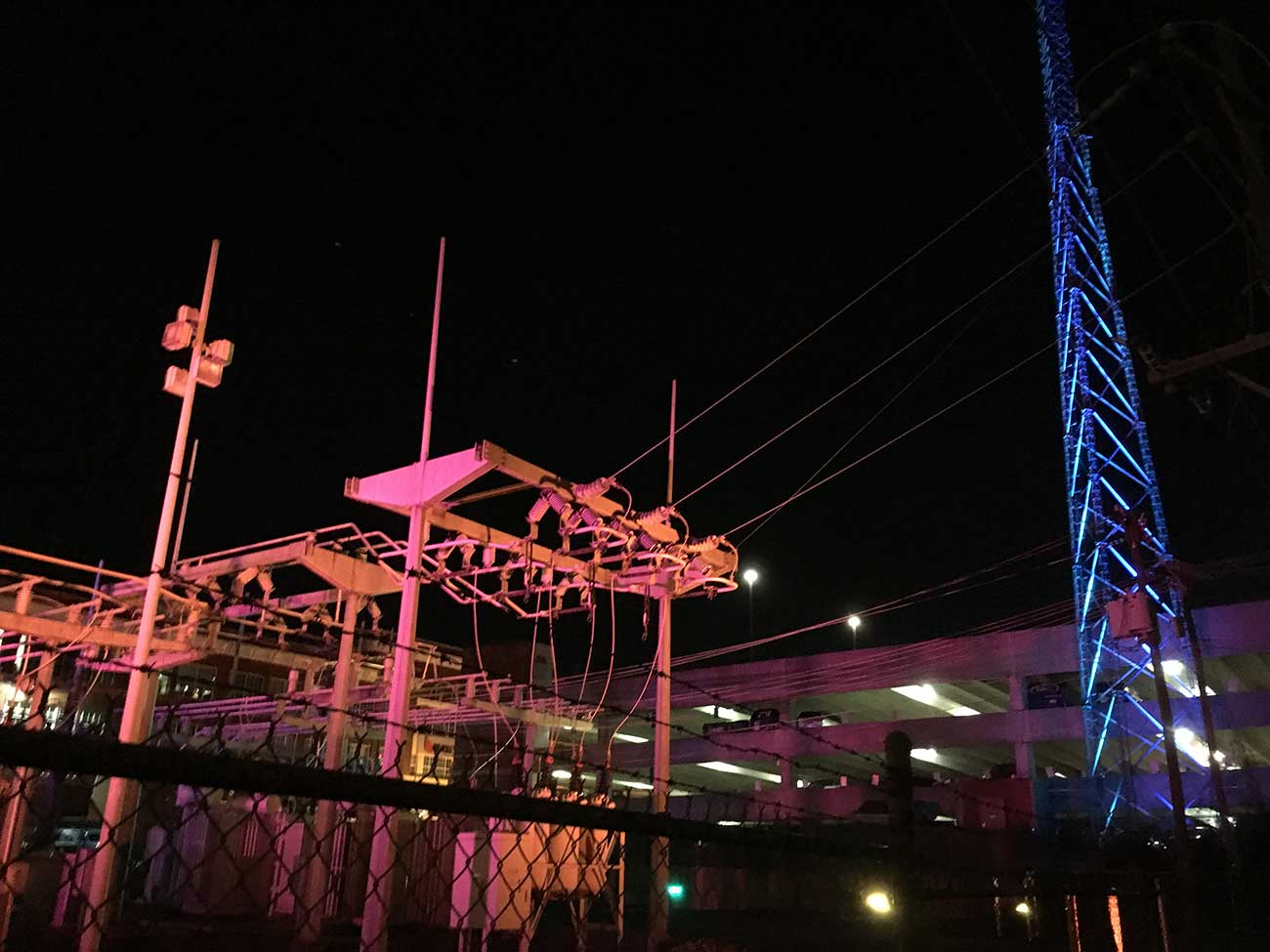 The Charlotte Rail Trail is unveiling its first major project —  a 199-foot light display