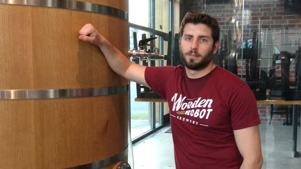 Meet Dan Wade, head brewer at Wooden Robot Brewery