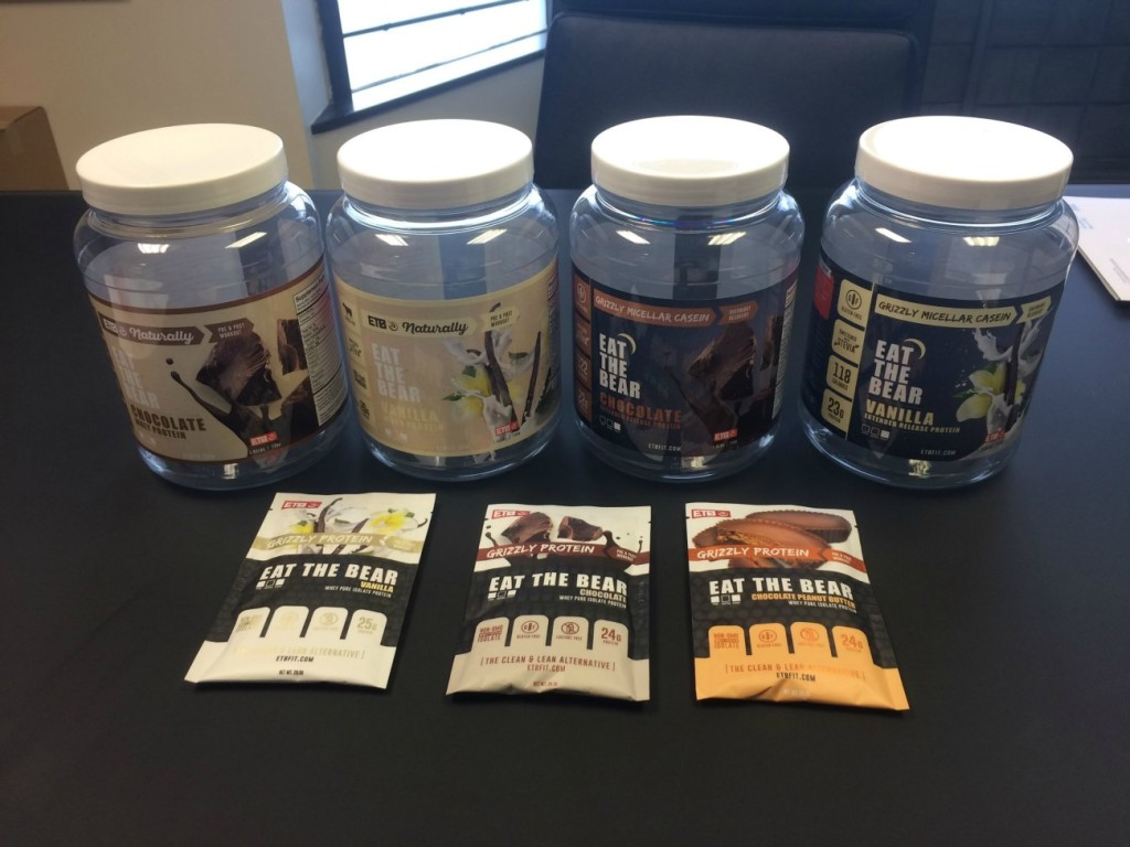 Charlotte protein powder startup Eat the Bear signs sponsorship deal with Spartan Race