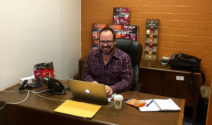 Work life of Jeff Eckert, founder and president of Dick Stevens Brands
