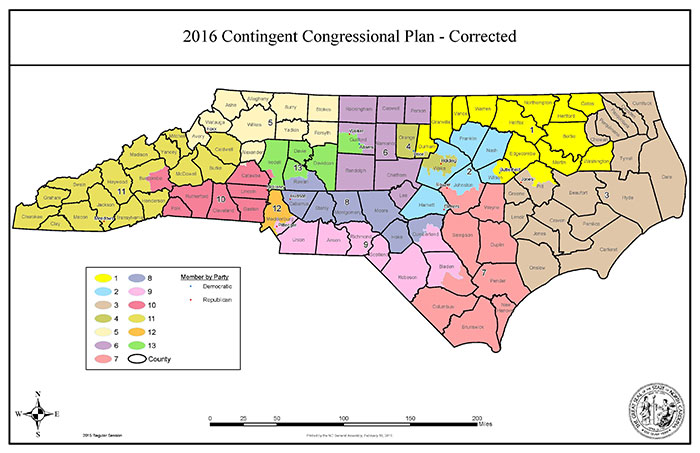 Proposed NC Congressional Map