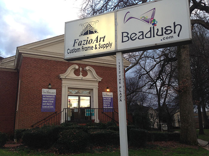 beadlush from outside