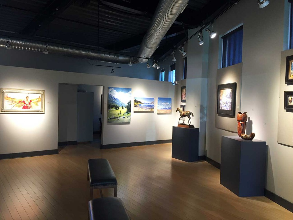 One of the South's only American Western art galleries is in Charlotte