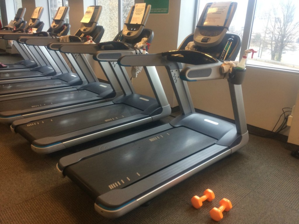 Workout Wednesday: Tread at the Dowd YMCA