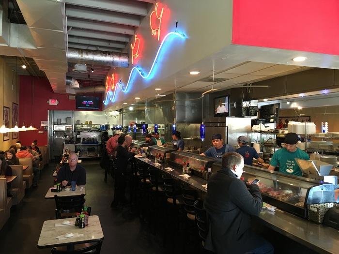 ru sans shushi restaurant in charlotte