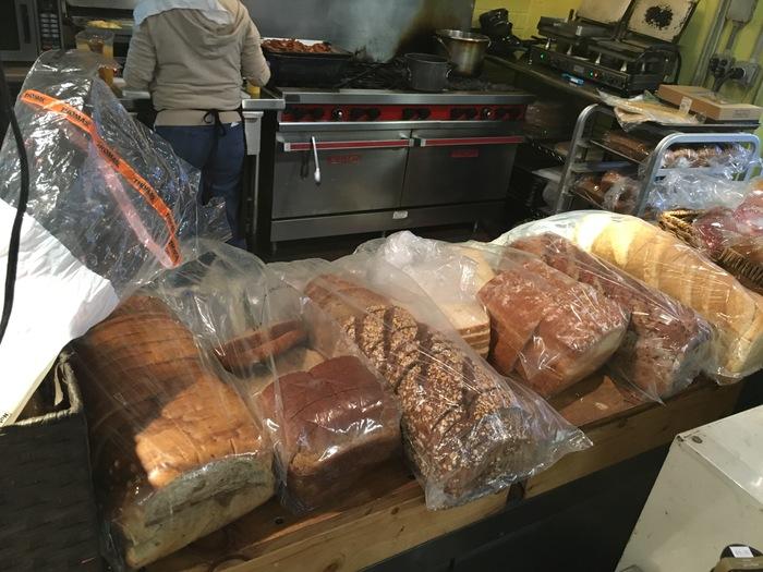 bread at myers park laurel market