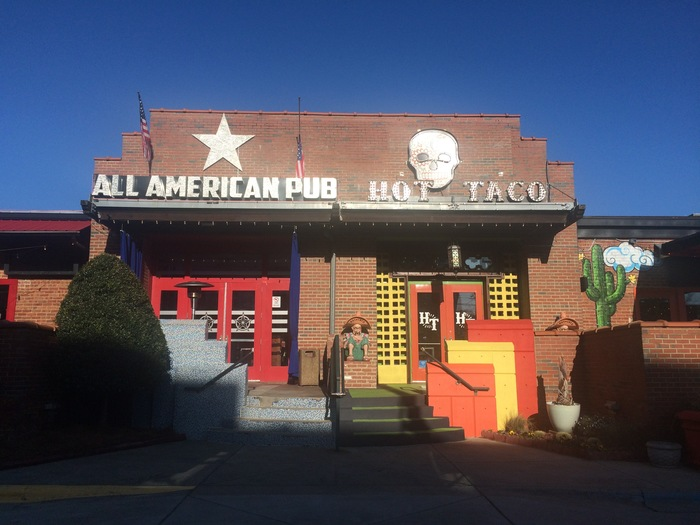 all american pub and hot taco