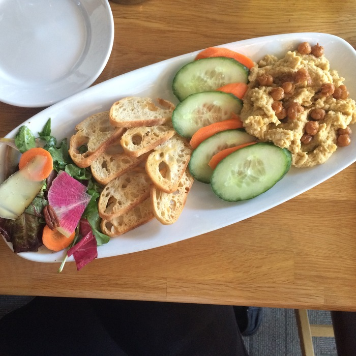 flipside restaurant hummus