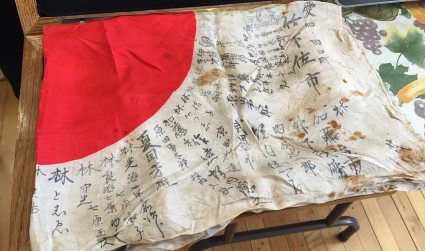 How this Japanese World War II soldier's flag made it from Charlotte back home 70 years later