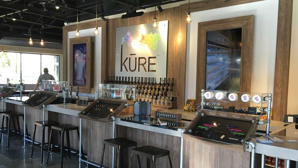 8 things I learned walking into the new KURE Vaporium & Lounge on Montford as a newb