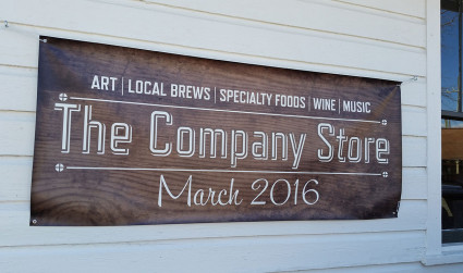 Introducing The Company Store, NoDa's new beer + art + event...