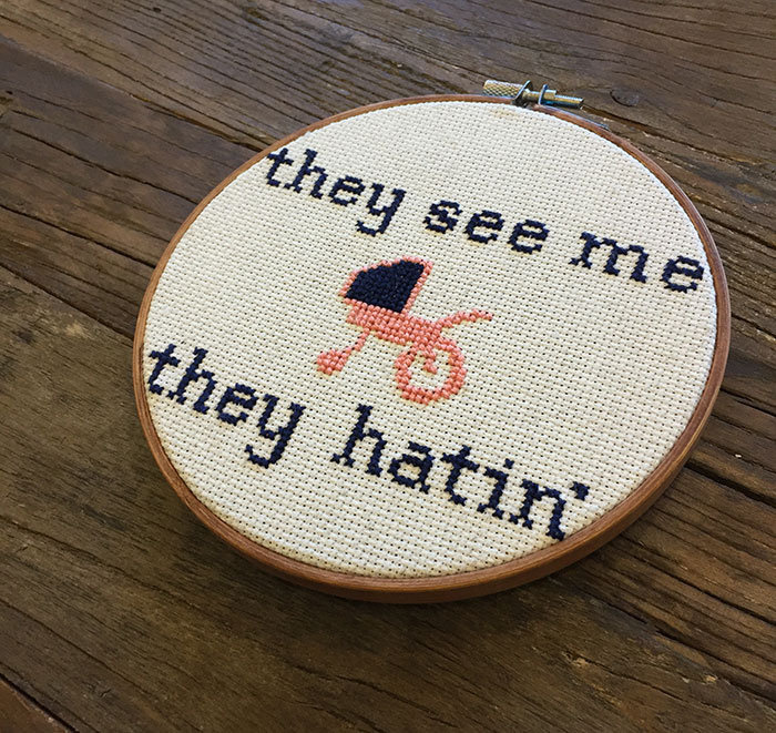 they-see-me-rollin'-cross-stitch