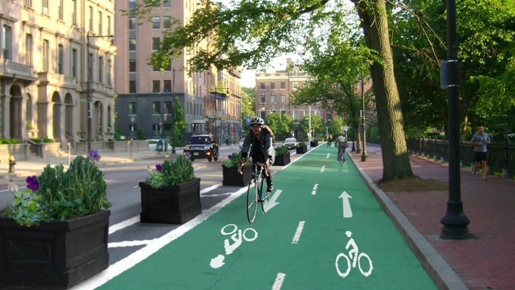 Boston-bike-lane