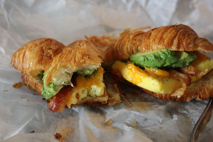 Sunflour-Egg-Bacon-Cheddar-Avocado-Croissant