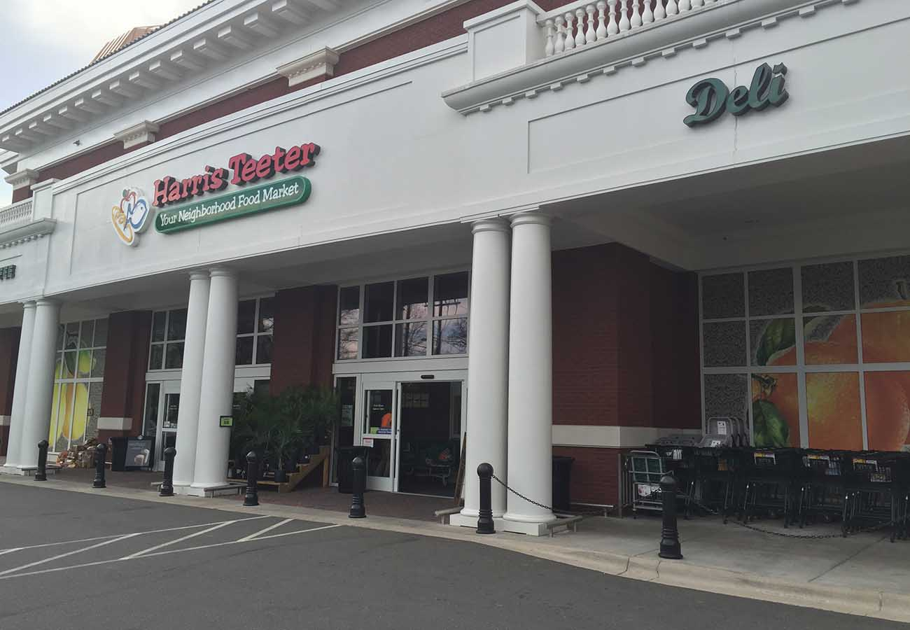 There's a killer little bar in Harris Teeter (really)