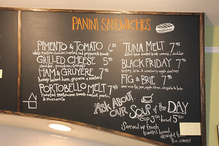 Sunflour-Panini-Menu