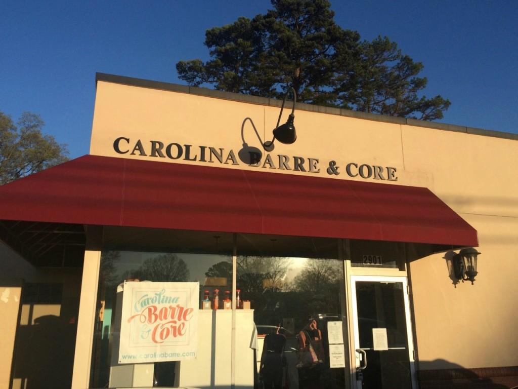 My abs begged for mercy at Carolina Barre & Core