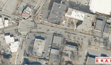 This weird intersection in Plaza Midwood is going to get more...