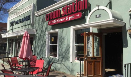 Crown Station Coffee House & Pub is closing this weekend. Say goodbye