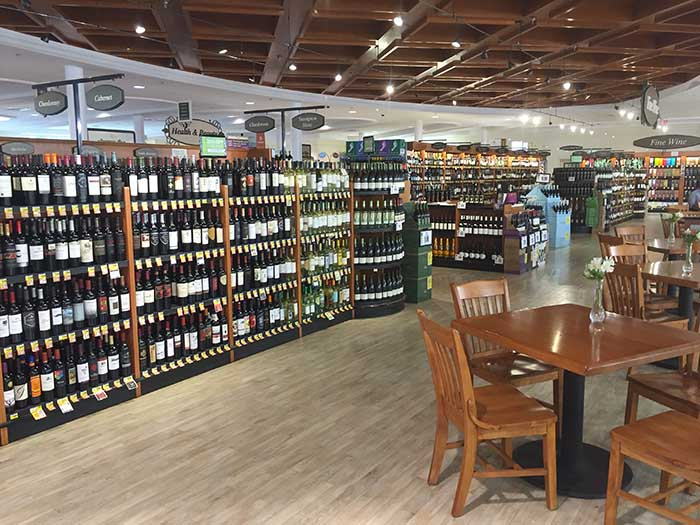 Harris Teeter Wine Aisle