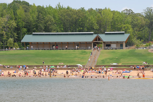 Lake Norman State Park (photo via Best of Lake Norman)