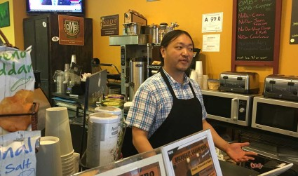 Work life of Oliver Wu, owner of Mugs Coffee Shop