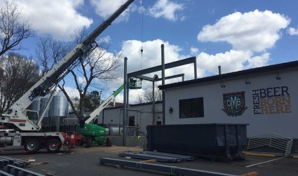 More expansion underway at Olde Mecklenburg Brewery