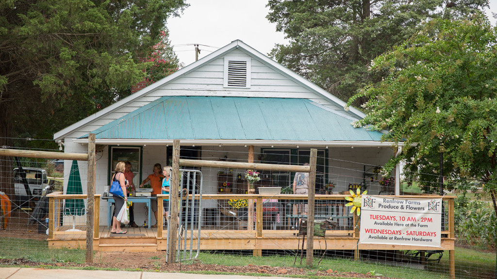 Cribs: Get behind the scenes of Renfrow Farms, a working farm within the I-485 loop
