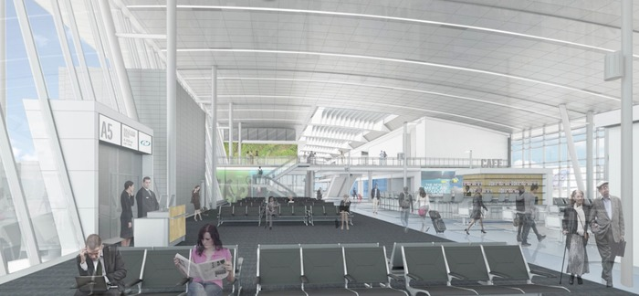 new terminal a charlotte airport